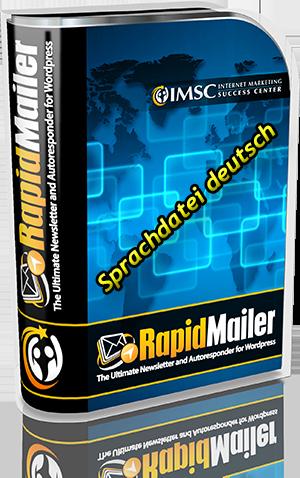 Rapid Mailer Sprachdatei deutsch